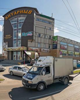 Положение магазина Сыроедофф на Янтарном рынке
